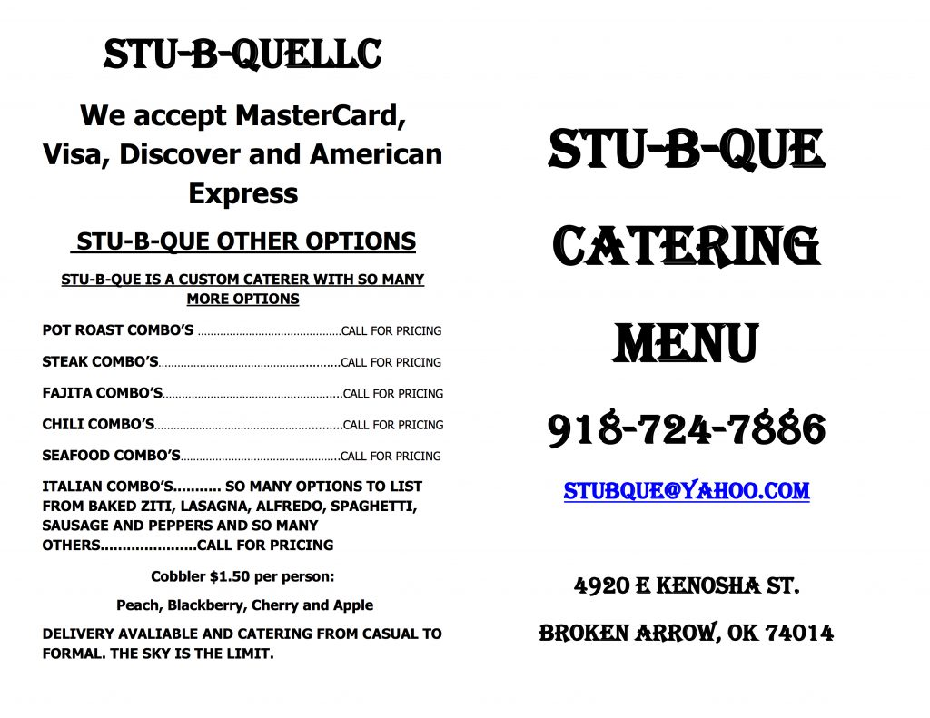 Stu Food Review